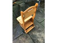 Chair/step ladder