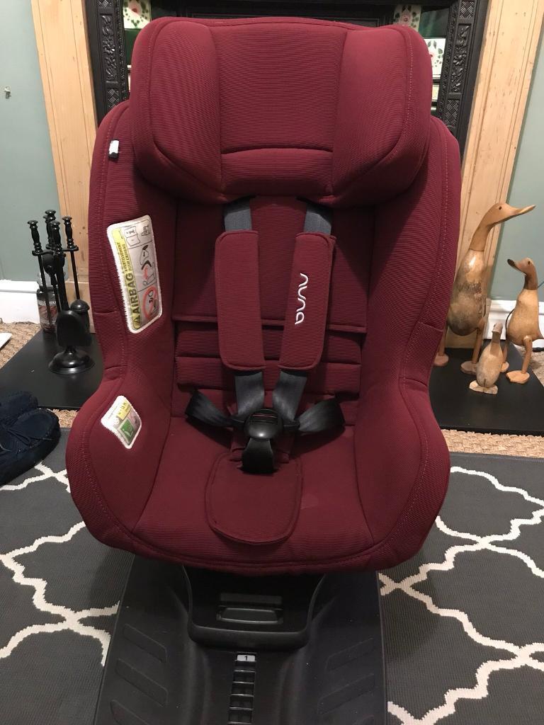 Nuna Rebl Plus Infant Toddler Car Seat