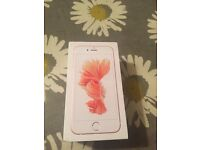 Brand new rose gold iPhone 6s