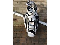 Srixon I-601 irons with power caddy cooler bag