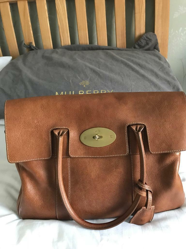 fd1690264f Mulberry Heritage Bayswater Natural Oak Handbag