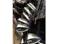 Used Ping G400 Irons, 5-PW + SW, AWT 2.0 Regular Flex Shafts, Immaculate Condition