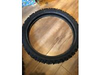 Dunlop sports d755f 80/100 tyre £5 Can deliver for petrol