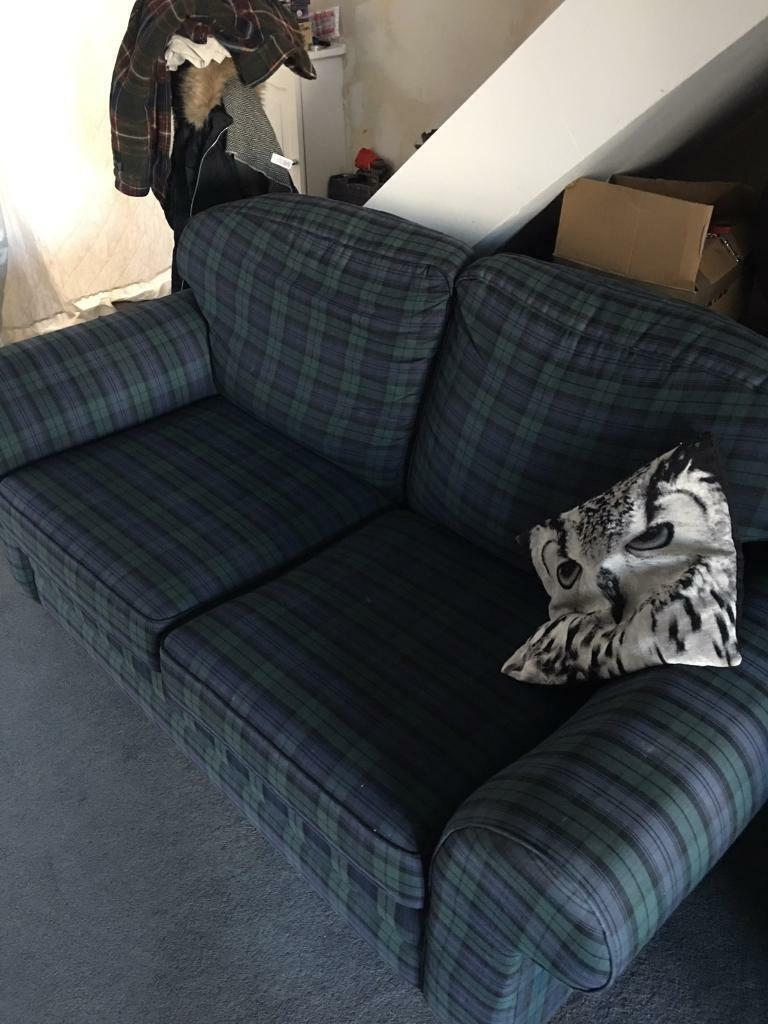 Black watch tartan sofa bed (offers considered)