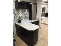 Kitchen display- Gloss Black