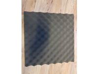 "20 Foam Acoustic Tiles 15"" x 15"" x 1.5"""