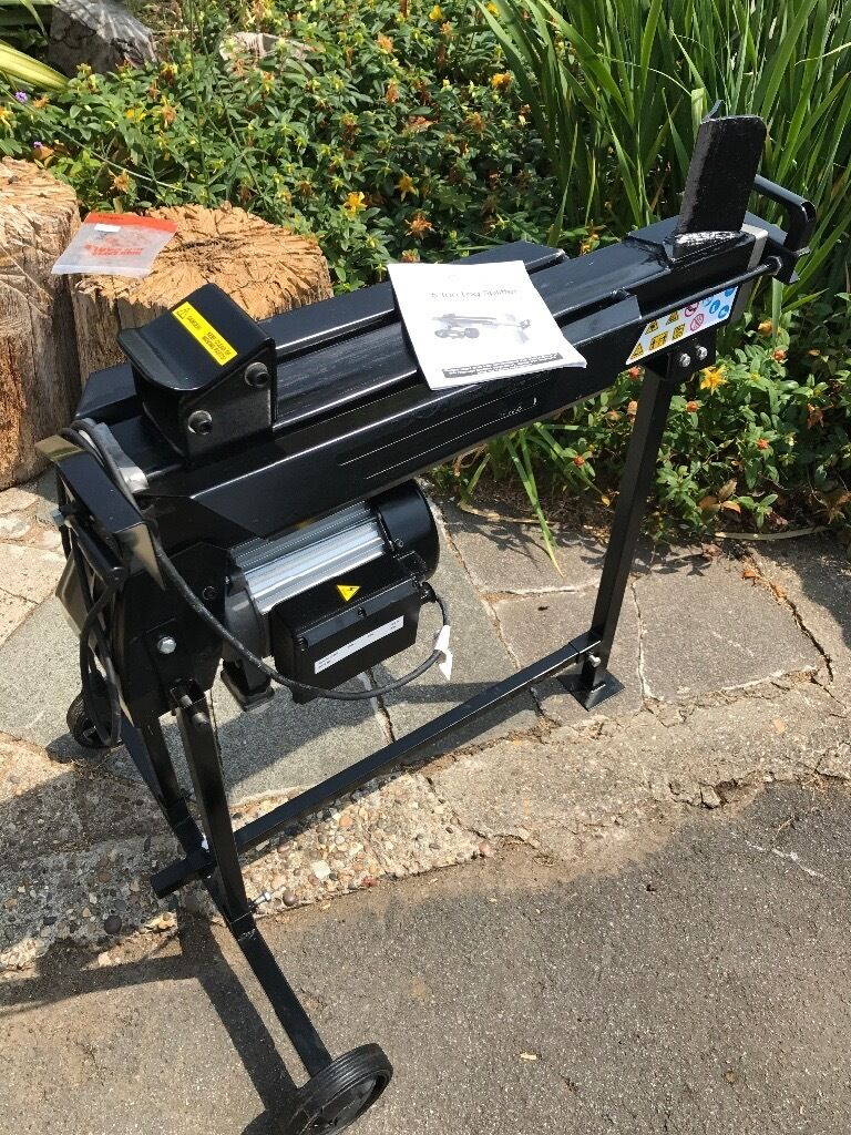 Log splitter, 5 tonne (not used muchin Canvey Island, EssexGumtree - Excellent condition, 5 tonne log splitter. No longer needed. Base is removable for easy transport. Collection Canvey Island, please ask for Paul. £130 or nearest offer