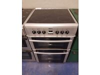 Silver 660cm ceramic cooker is in perfect working order and in good condition