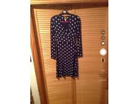 Joules Monica polka dot dress