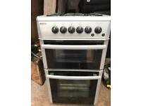 Tidy. Silver. 50cm. Gas. Cooker