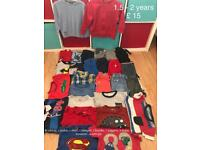 1.5 - 2 years boys clothes