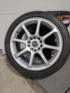 "BRAND NEW MSR 169 17"" RIM/TIRE COMBO!! 5x112/5x100 bolt pattern"