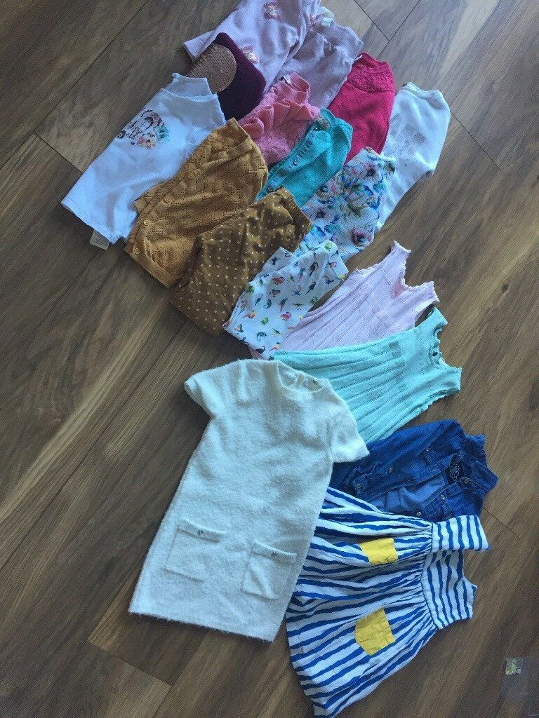Baby girl clothes bundle dress cardigan 6-9 9-12 12-18 18-24 months