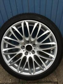 1 X BMW alloy wheel 20inch with tyre
