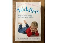 Toddler behaviour books