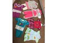 Brand new bundle of baby girl clothes 3-6 month old
