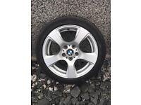 "4x17""BMW Alloys with New Tyres"