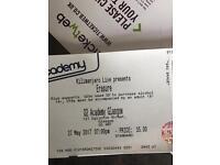 Erasure ticket Glasgow Saturday!