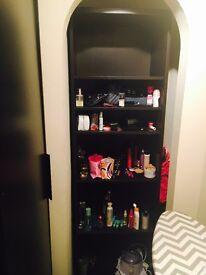 Black book shelf/rack storage