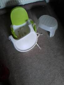 Baby feeding seat/table