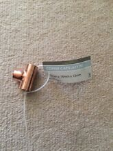 bunnings Kinetic 15 x 15 x 15mm Copper Capillary Tee x3 Chatswood Willoughby Area Preview