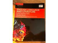 Various A level books and textbooks