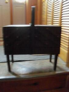 Large antique sewing stand