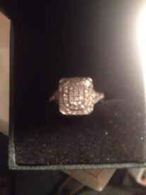 Size k engagement ring