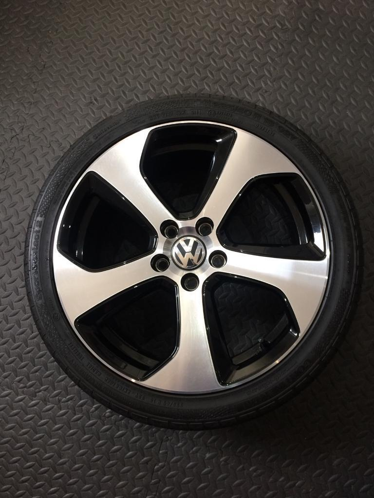 "Vw Golf GTI mk7 Austin 18"" alloy wheel"