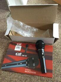 GATT audio dm-50 dynamic microphone