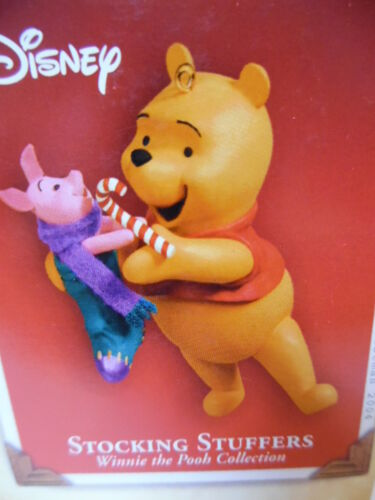Hallmark 2004 - Stocking Stuffers - Winnie the Pooh Collection - NEW IN BOX