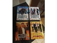 CSI MIAMI - Complete Set Of Series 1 & 2 (48 Episodes)