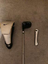 Nike driver with adjustable head