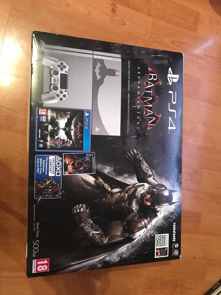 PlayStation 4 Batman Limited Edition Console