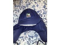 2 SKI HATS - 1 RED AND 1 BLUE - NEVER USED - BRAND NEW -