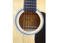 Fender Squier SA-105 Acoustic Guitar complete with Bag and Strap