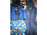 Boys winter coat rain jacket and snow rain suits 18-24 months
