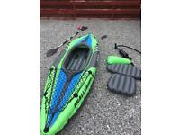 Challenger inflatable kayak
