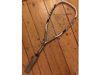 Dunlop aerogel pro plus squash racket and bag