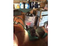 Suffolk punch cylinder lawnmower 17s