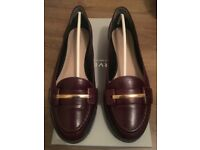 Ladies leather slip on shoes- Kurt Geiger Carvela size 5/38