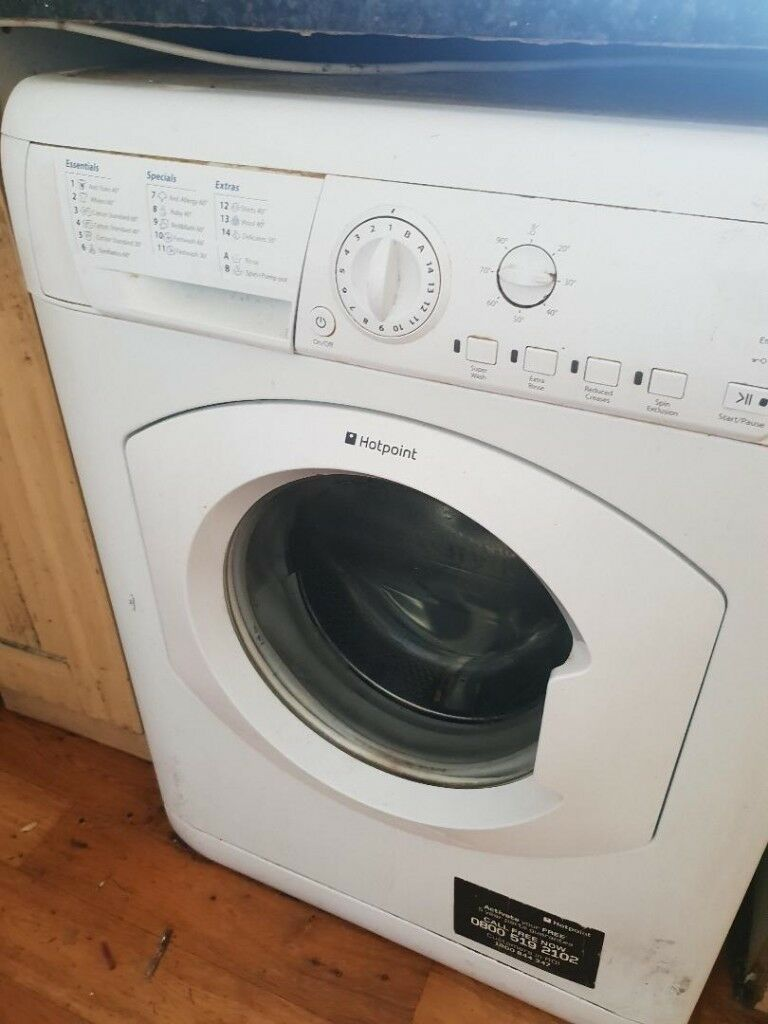 Hot point washing machine for immediate sale | in Barking, London ...