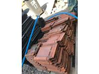 Traditional reclaimed courtrai clay roof tiles