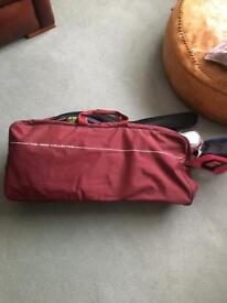 SPORTS EQUIPMENT IN BAG