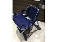 Highchair hardly used