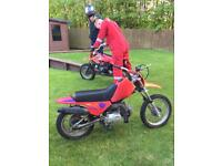 Kids motorcycle 90cc