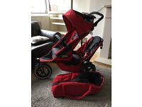 Phil & Teds Double Twin Pram & Accessories RRP £449