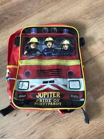 Fireman Sam bag rucksack