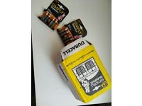 BRAND NEW, WHOLESALE DURACELL AA BATTERIES - 20 PACKS OF 4 = 80 AA BATTERIES