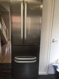 £160 ONO MUST GO TODAY.. COLLECTION ONLY American hotpoint fridge freezee